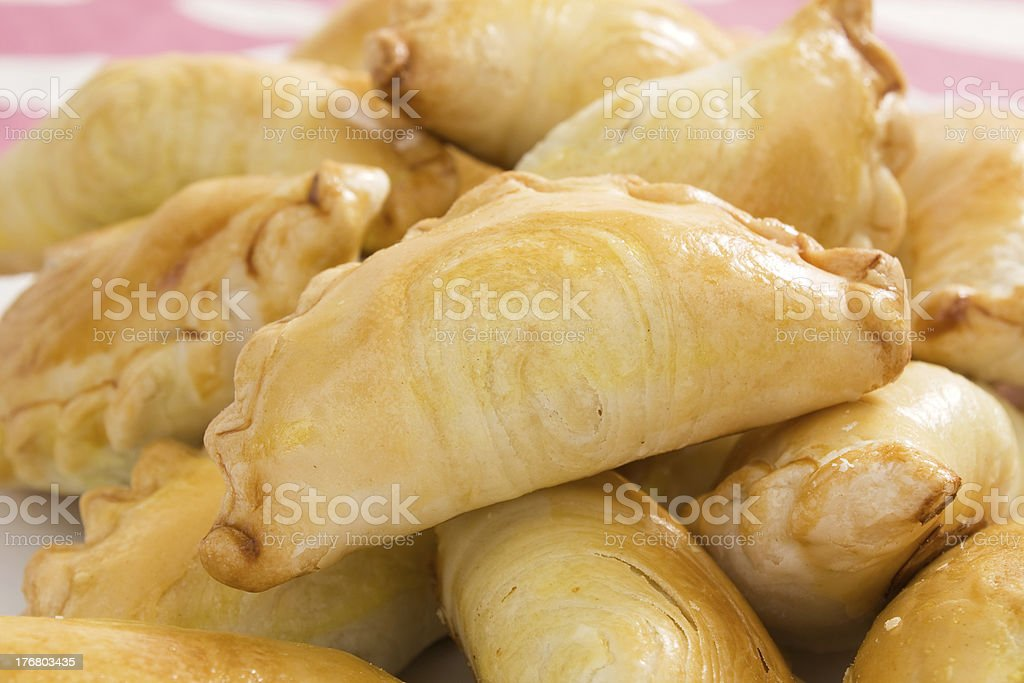 Malaysian Curry Puffs royalty-free stock photo