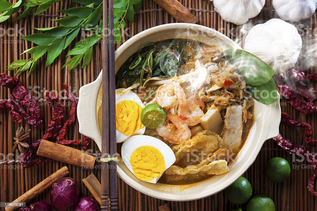Malaysian food stock photo