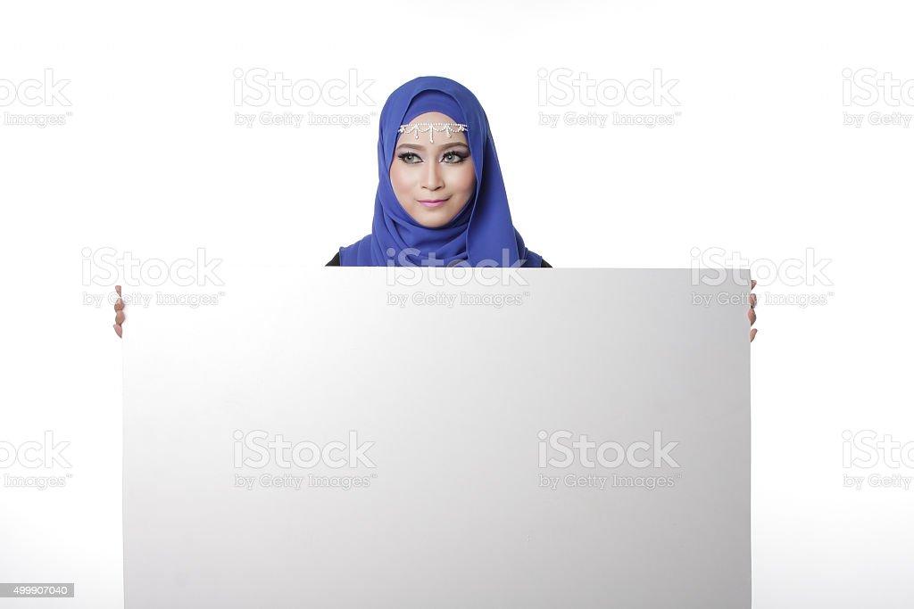 Malaysian malay woman stock photo