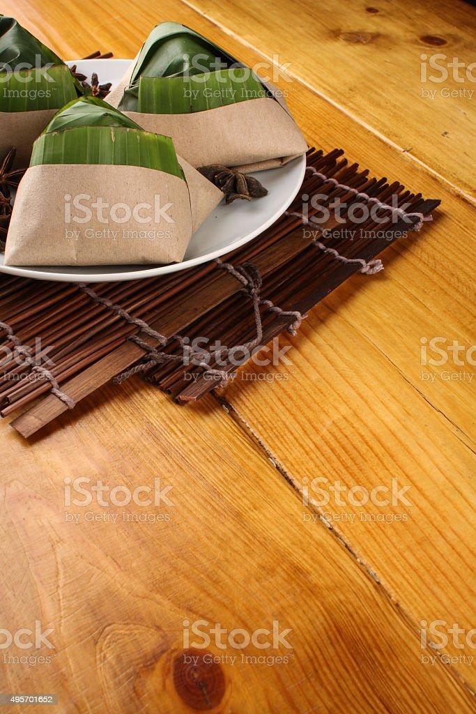 malaysian nasi lemak stock photo