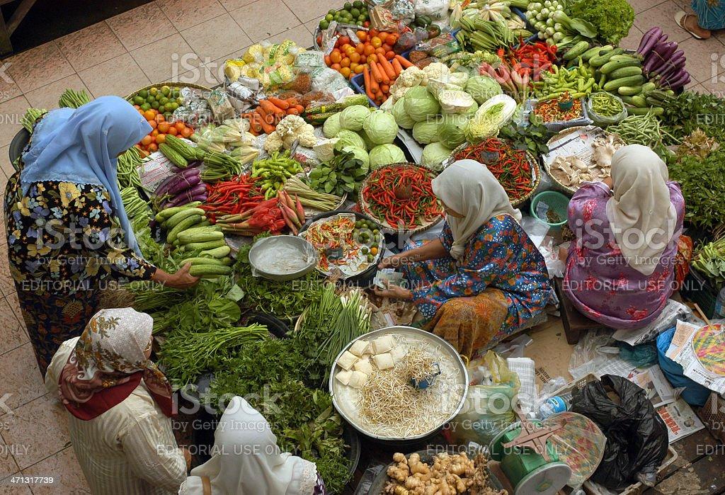 Malaysian shopping stock photo