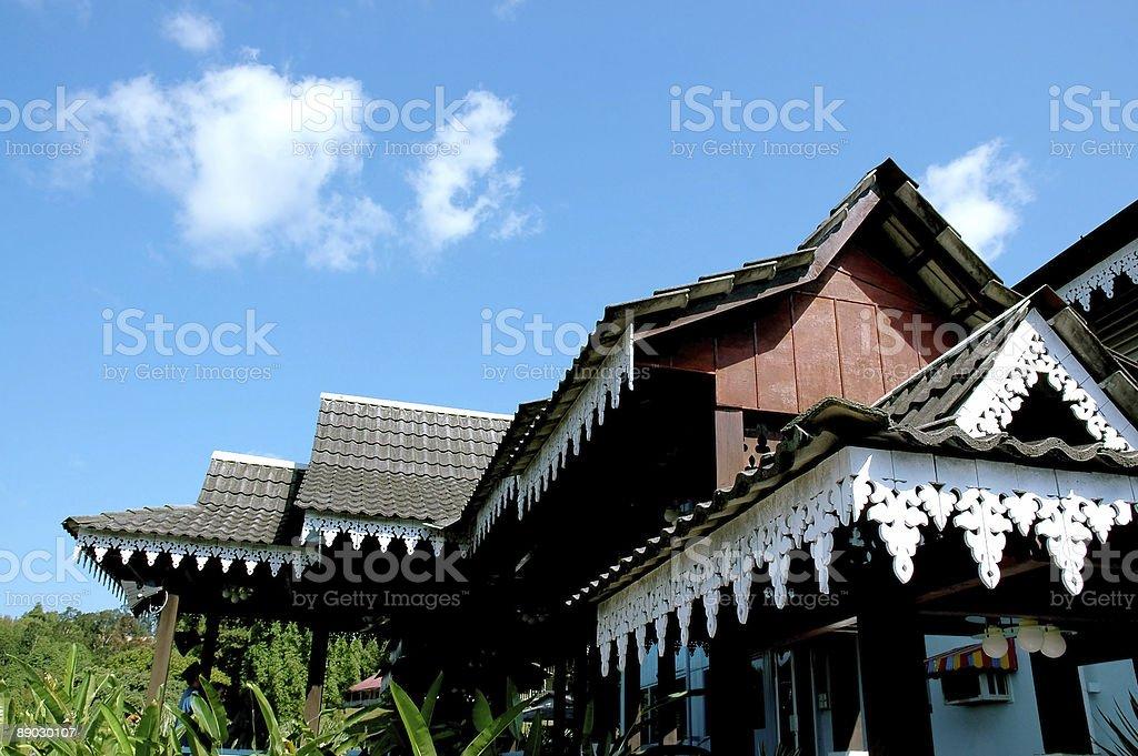 Malaysia's architecture stock photo