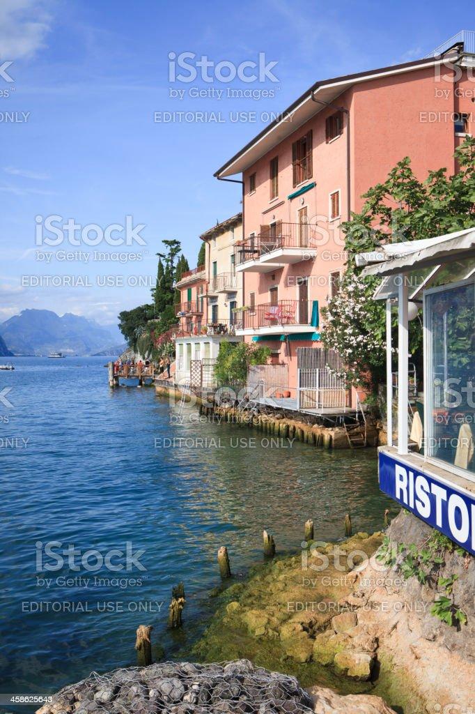 Malcesine at Lake Garda, Italy royalty-free stock photo