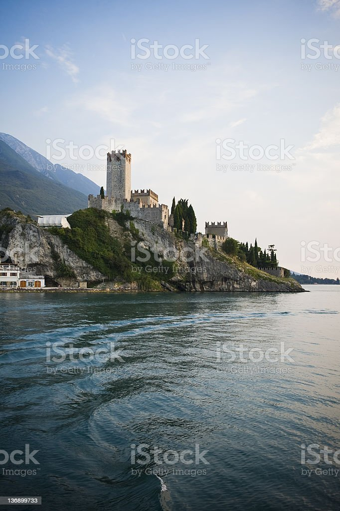 Castello di Malcesine stock photo