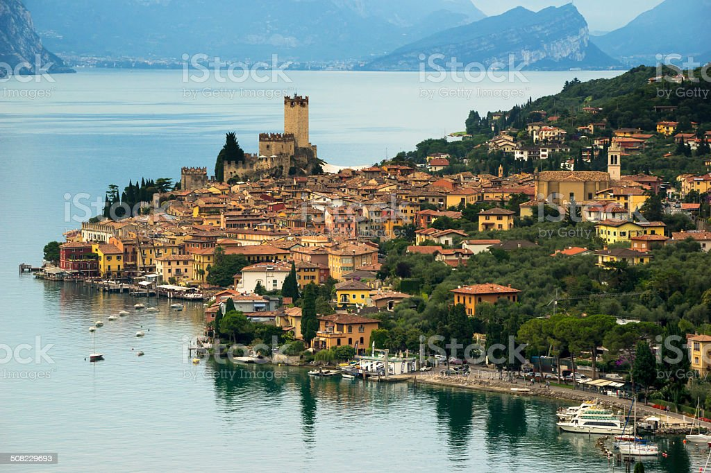 Malcesine, Gardasee stock photo