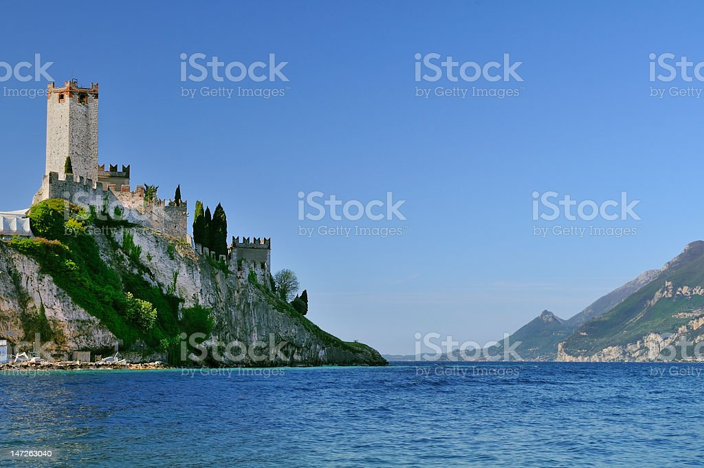 Malcesine (Garda Lake - Italy) stock photo