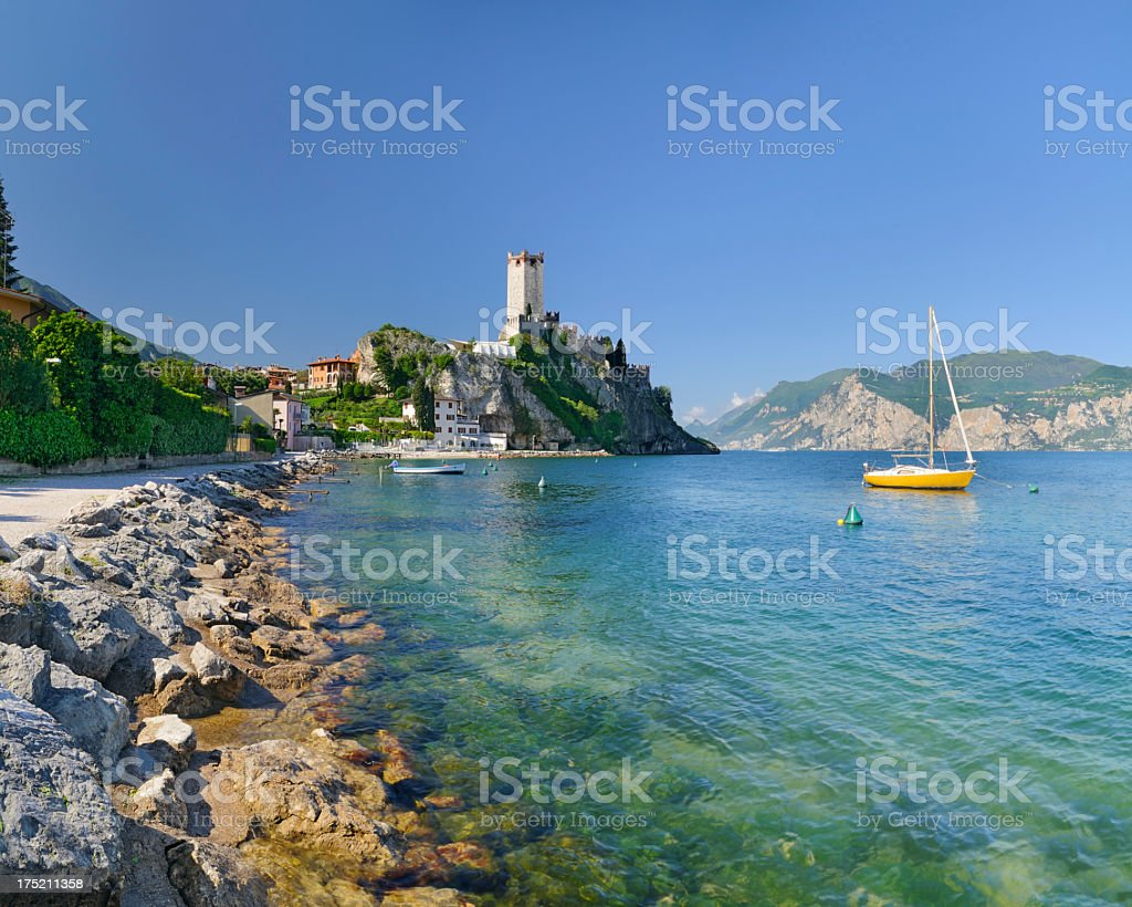 Malcesine (Lago di Garda - Italy) stock photo