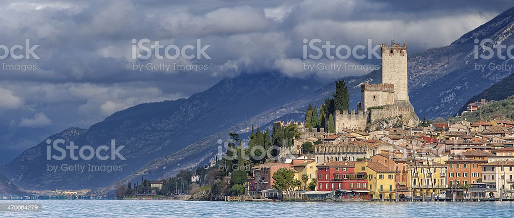 Malcesine stock photo
