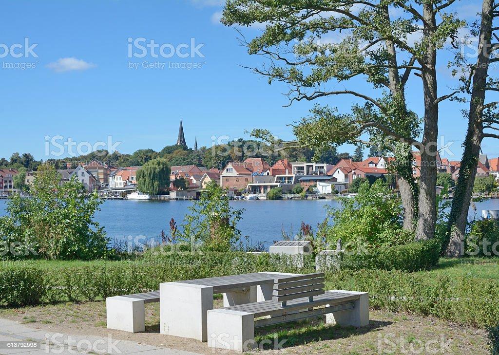 Malchow,Mecklenburg Lake District,Germany stock photo