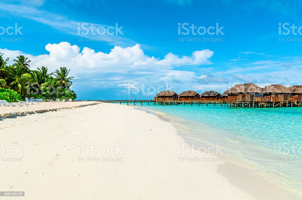 Maldive Islands stock photo