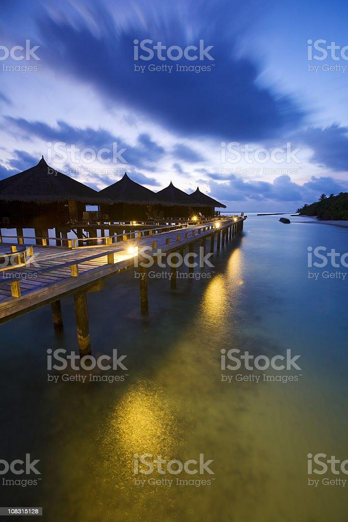 Maldives royalty-free stock photo