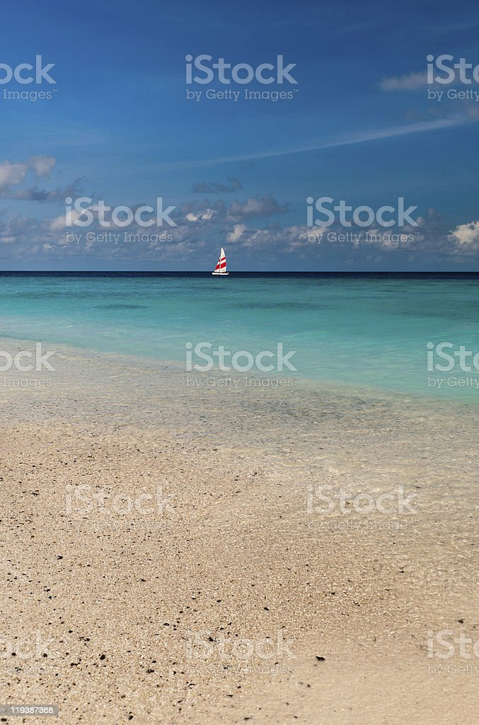 Maldivian dreams royalty-free stock photo