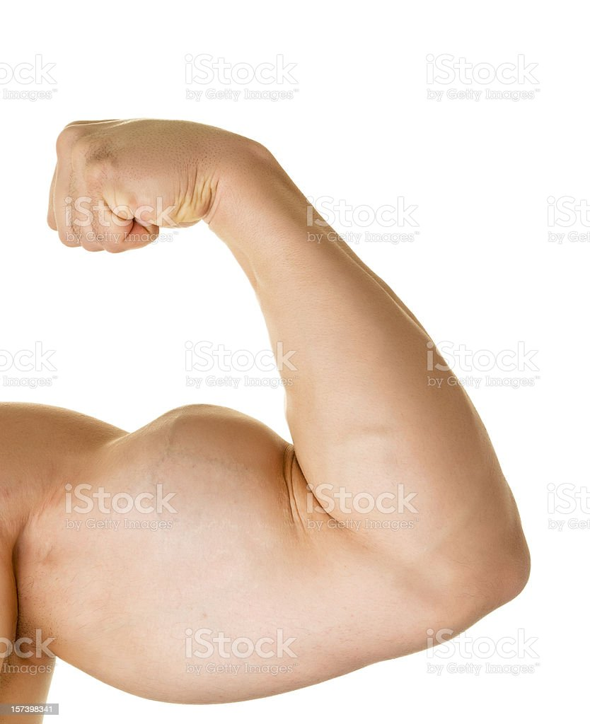 Male arm stock photo