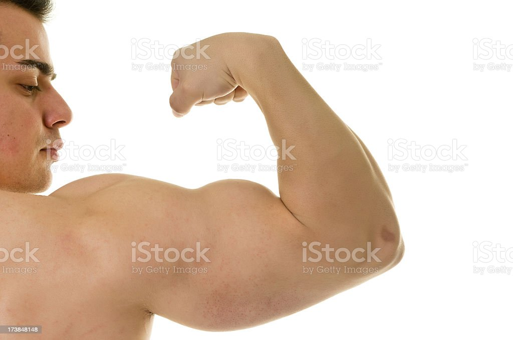 Male arm royalty-free stock photo