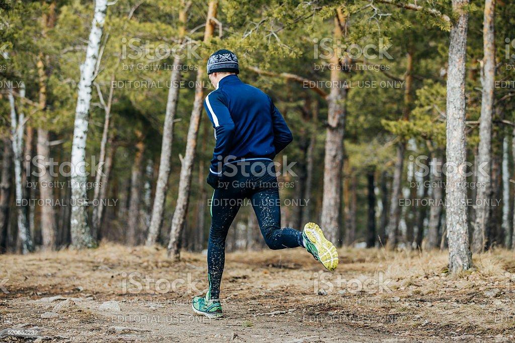 숫나사 선수 실행 marathon 러너 royalty-free 스톡 사진