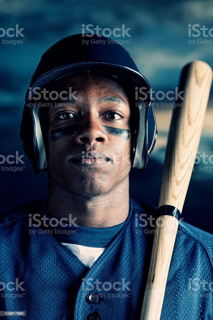 Male Baseball Player royalty-free stock photo