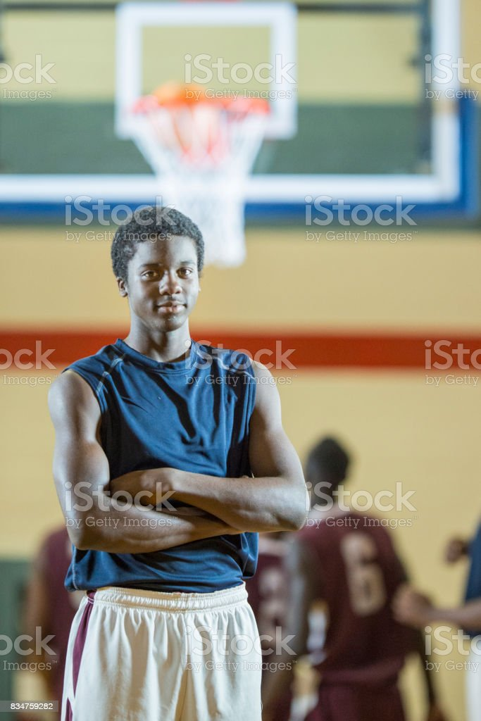 Male Basketball Player stock photo