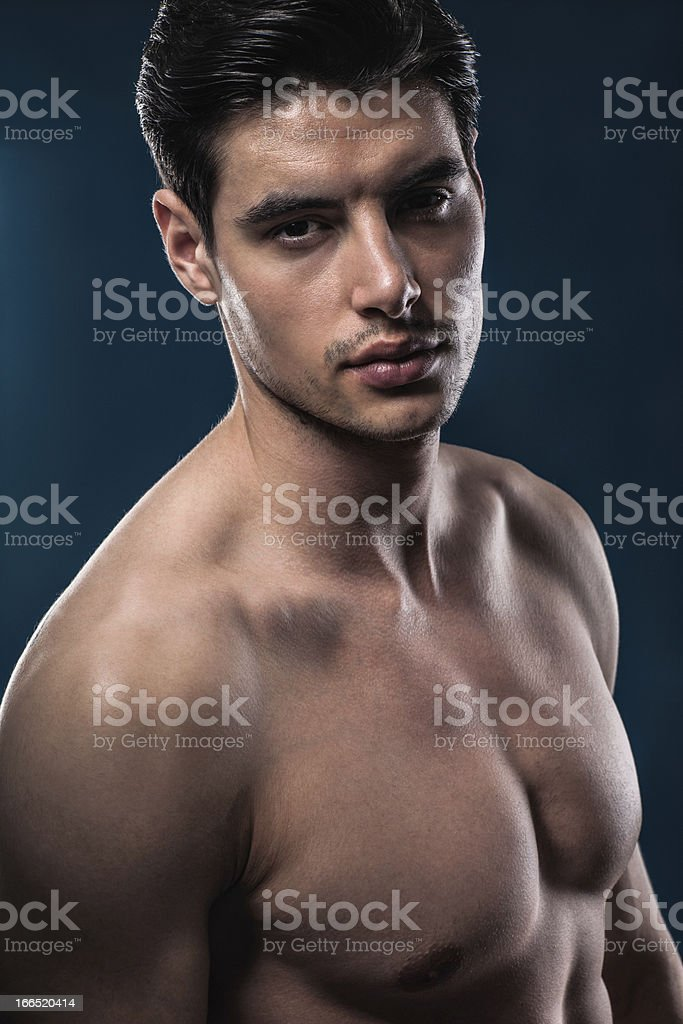 Male beauty royalty-free stock photo