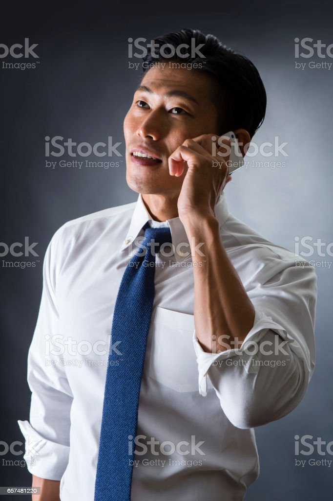 Male call stock photo