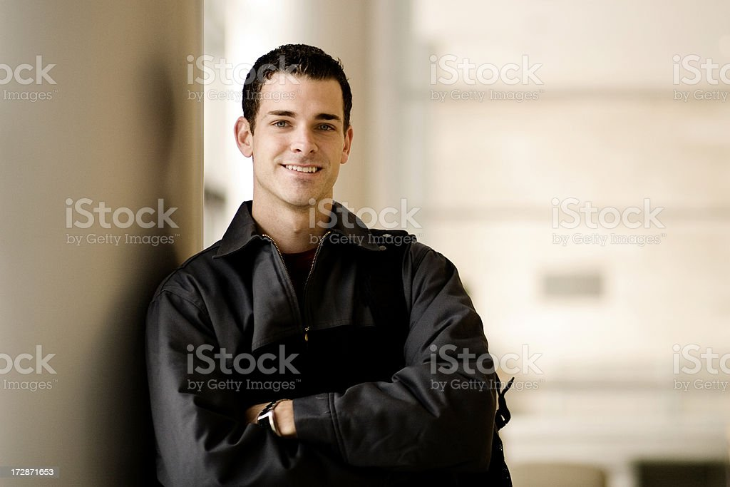 Male College Student royalty-free stock photo