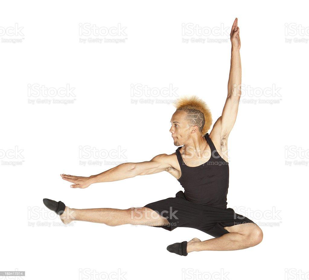 Male Dancer Posing stock photo