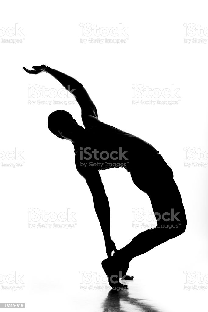 male dancing royalty-free stock photo