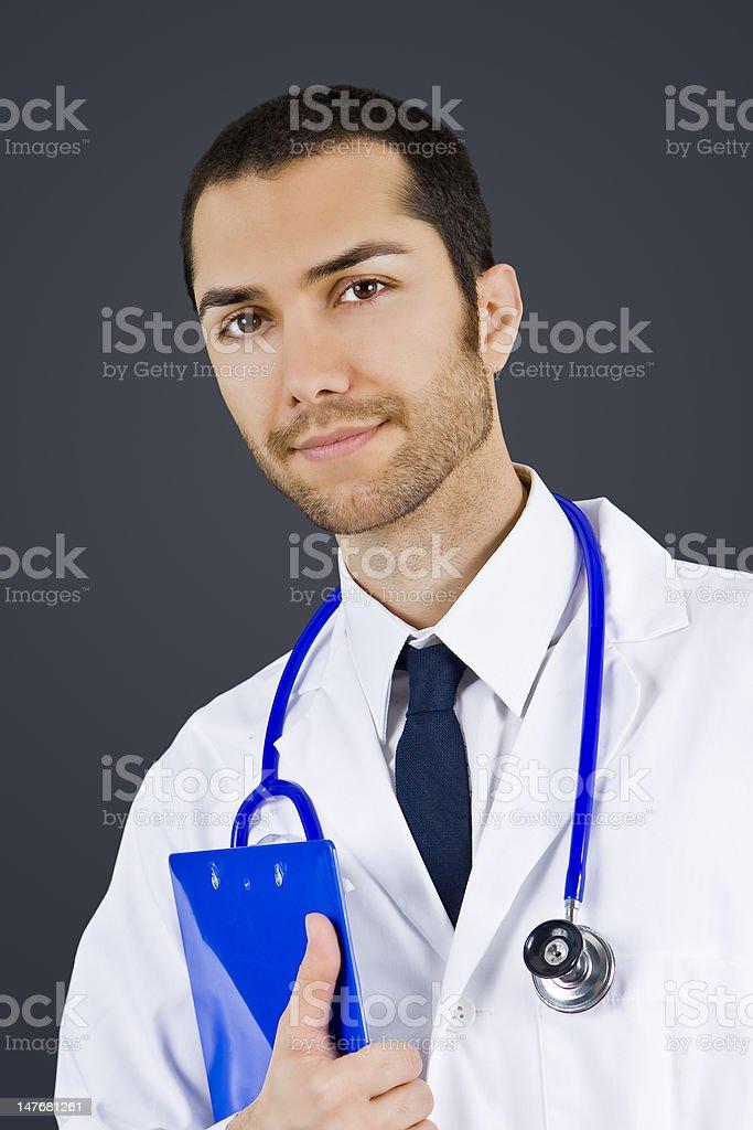 Macho médico foto de stock libre de derechos