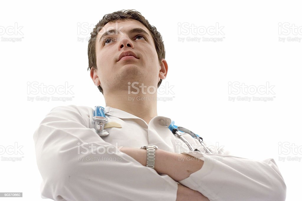 Male doctor royalty-free stock photo