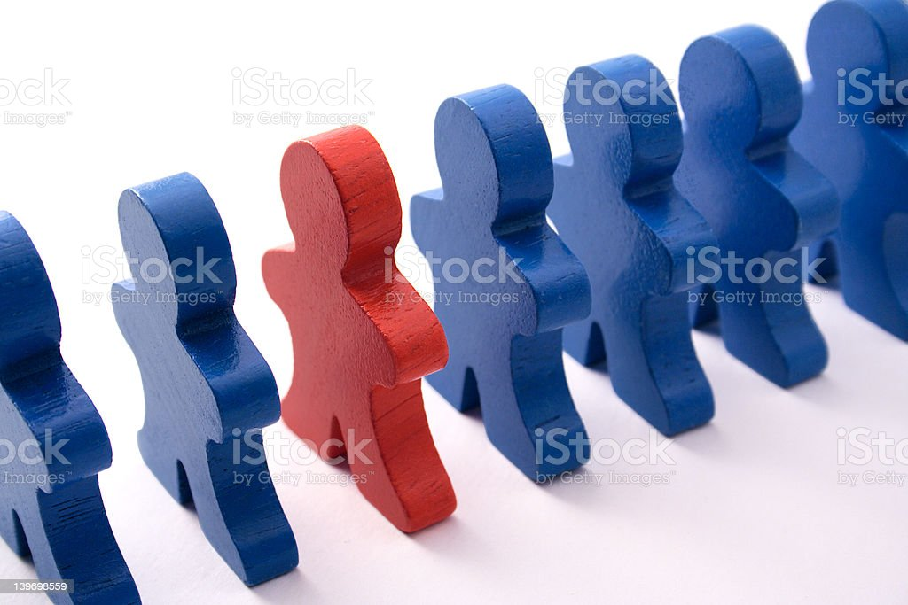 Male Dominated Workplace royalty-free stock photo