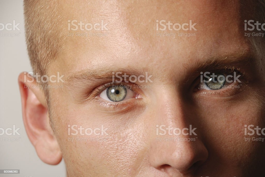 Male Eyes-2 stock photo