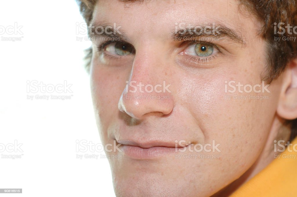 male face royalty-free stock photo