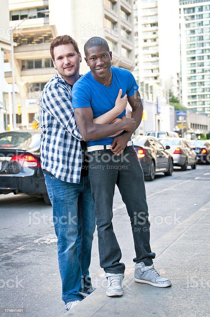 Male gay couple - I royalty-free stock photo