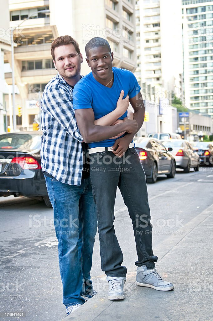 Male gay couple - I stock photo