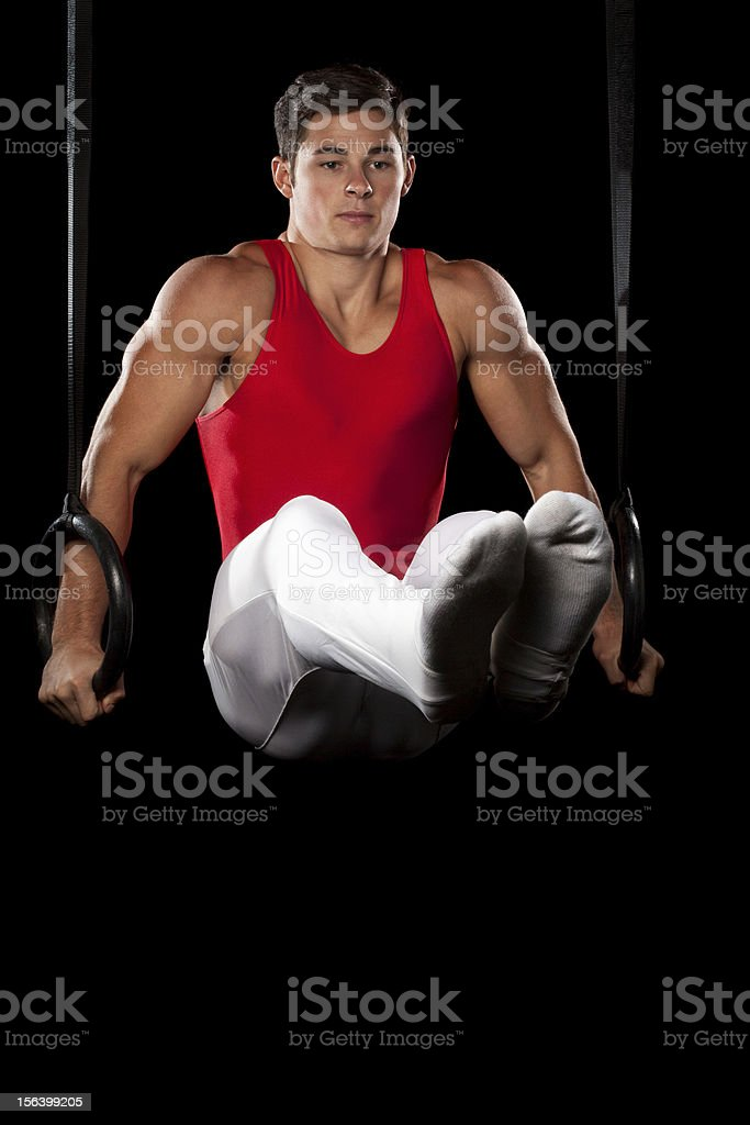 Male Gymnast royalty-free stock photo