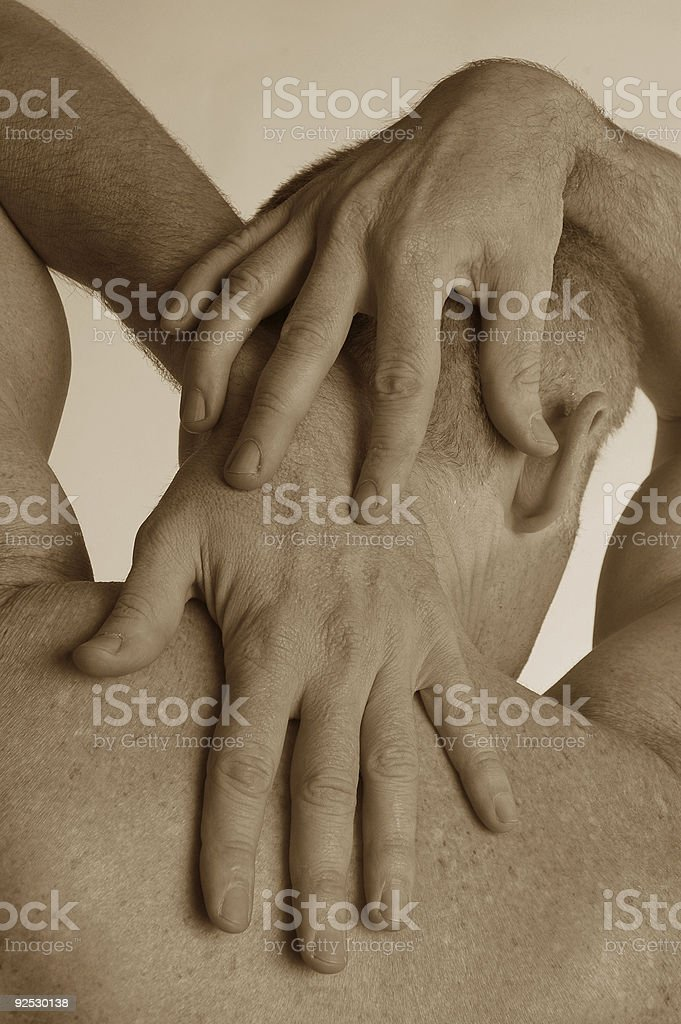 male hands royalty-free stock photo