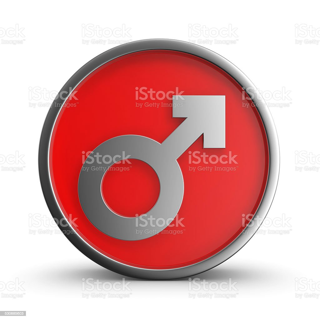 Male icon. royalty-free stock photo