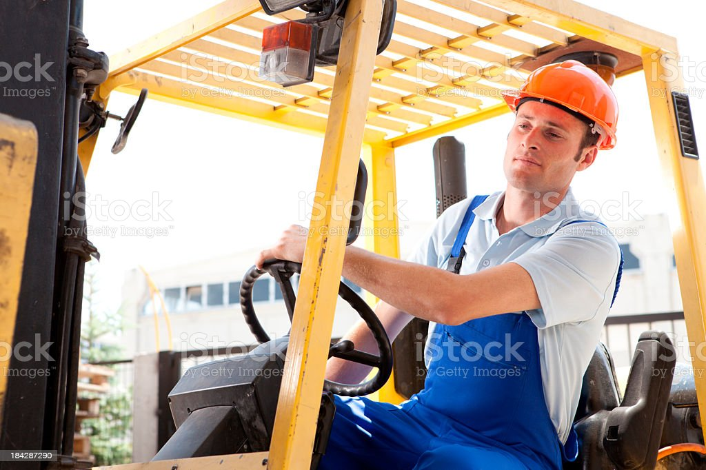 Male Industrial Worker royalty-free stock photo