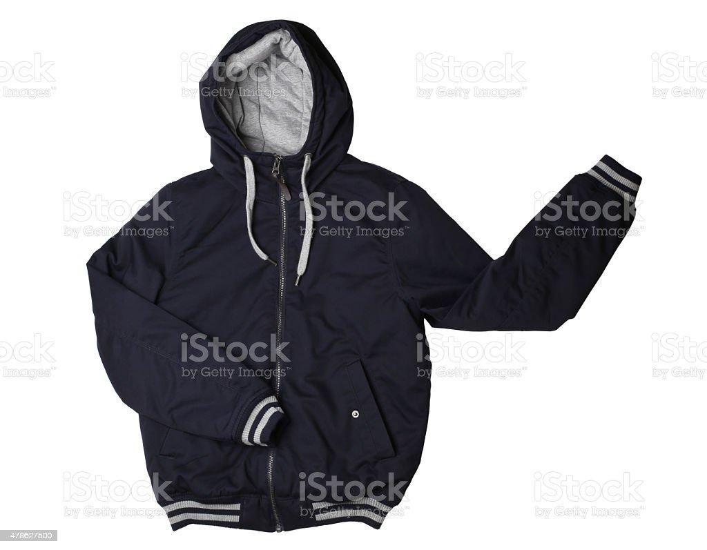 Male jacket isolated stock photo
