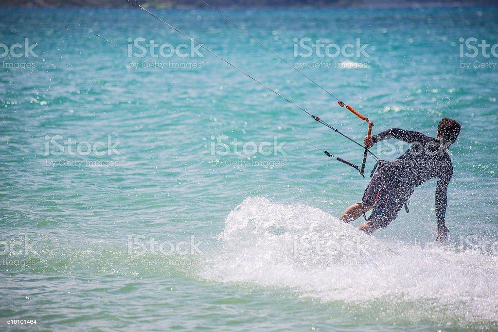 Male Kit Surfer stock photo