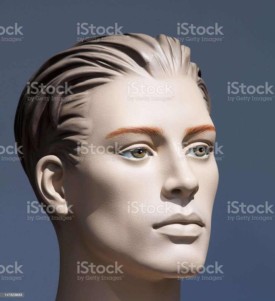 Male mannequin stock photo