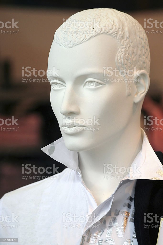 Male mannequin royalty-free stock photo