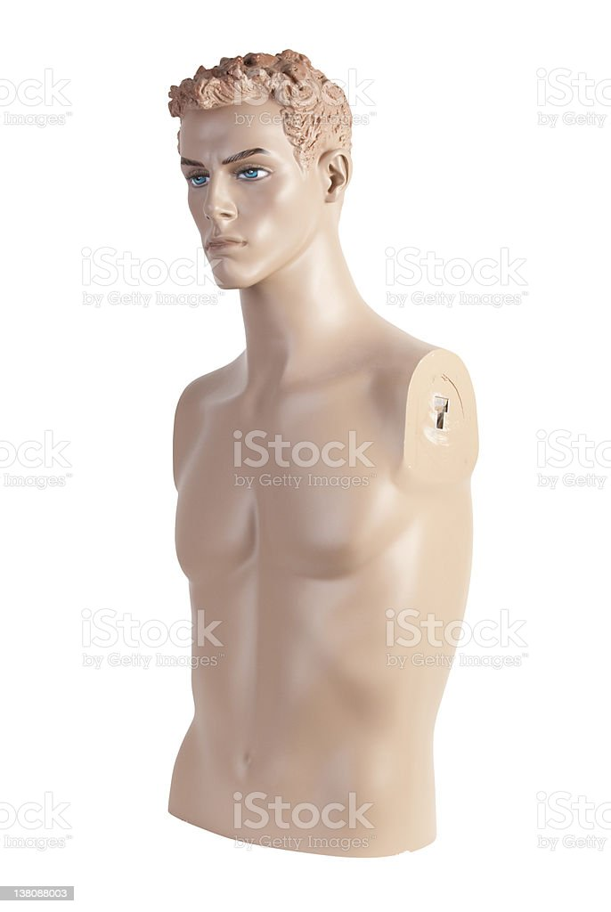 Male mannequin torso | Studio isolated stock photo