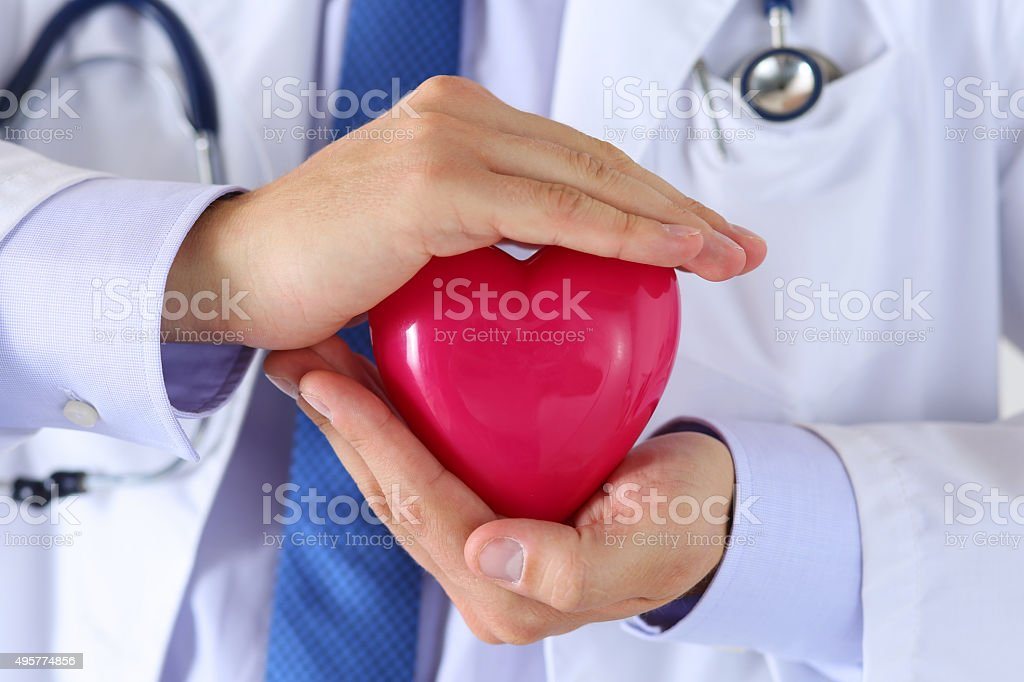 Male medicine doctor hands stock photo