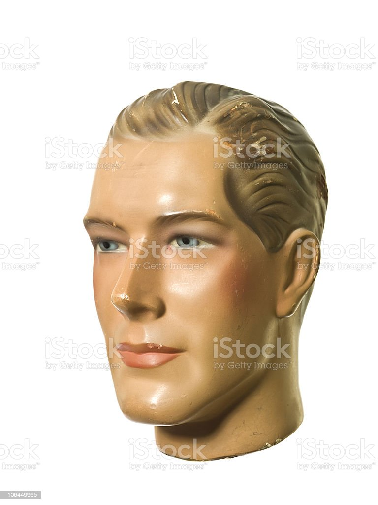 Masculine mannequin stock photo