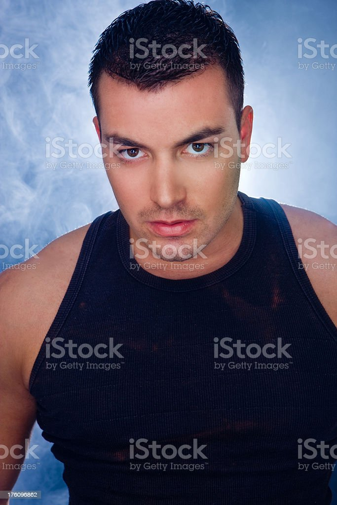 Male model royalty-free stock photo