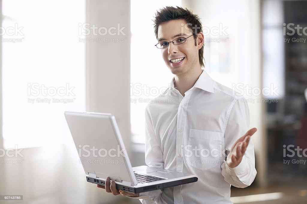 male notebook royalty-free stock photo