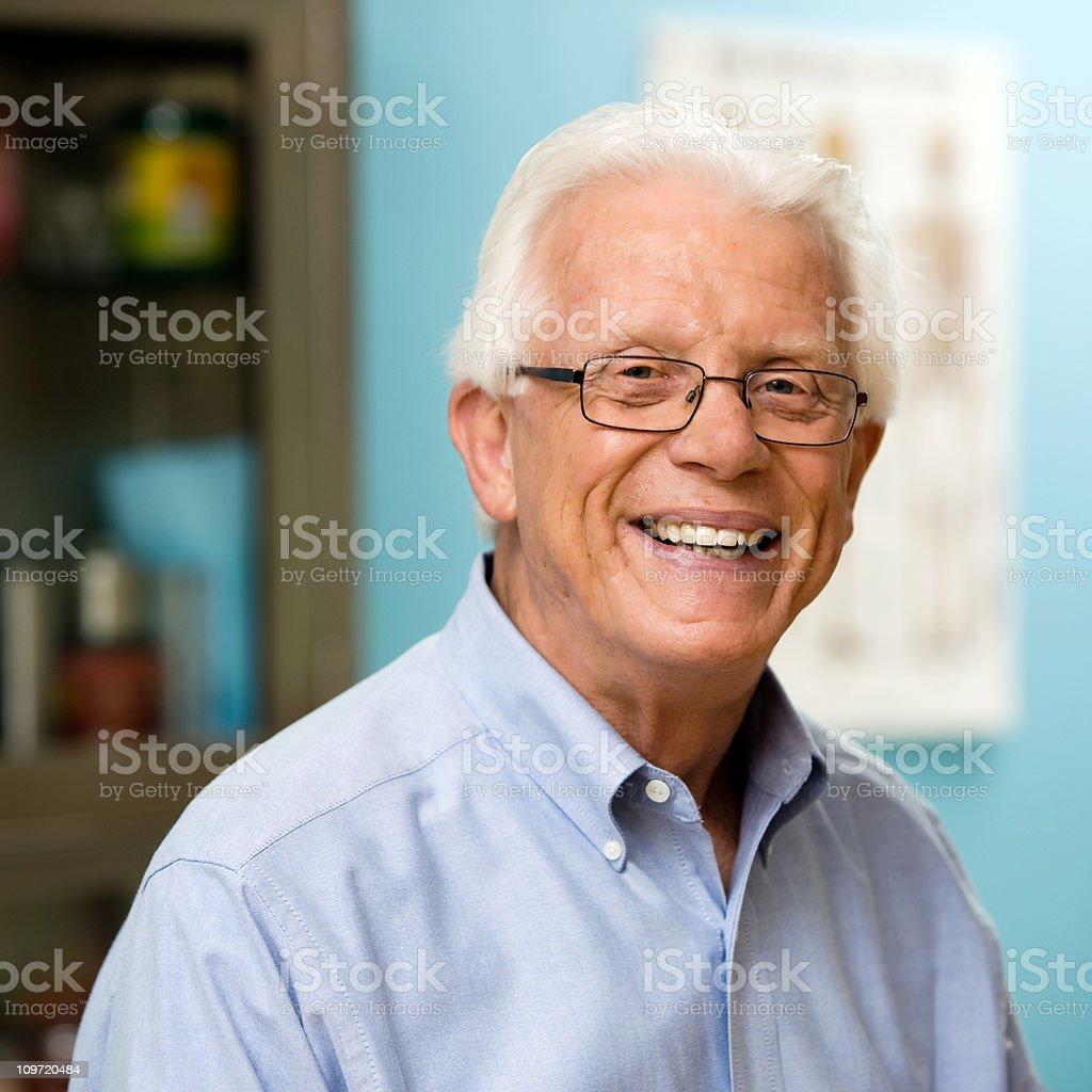 Male Patient Portrait stock photo