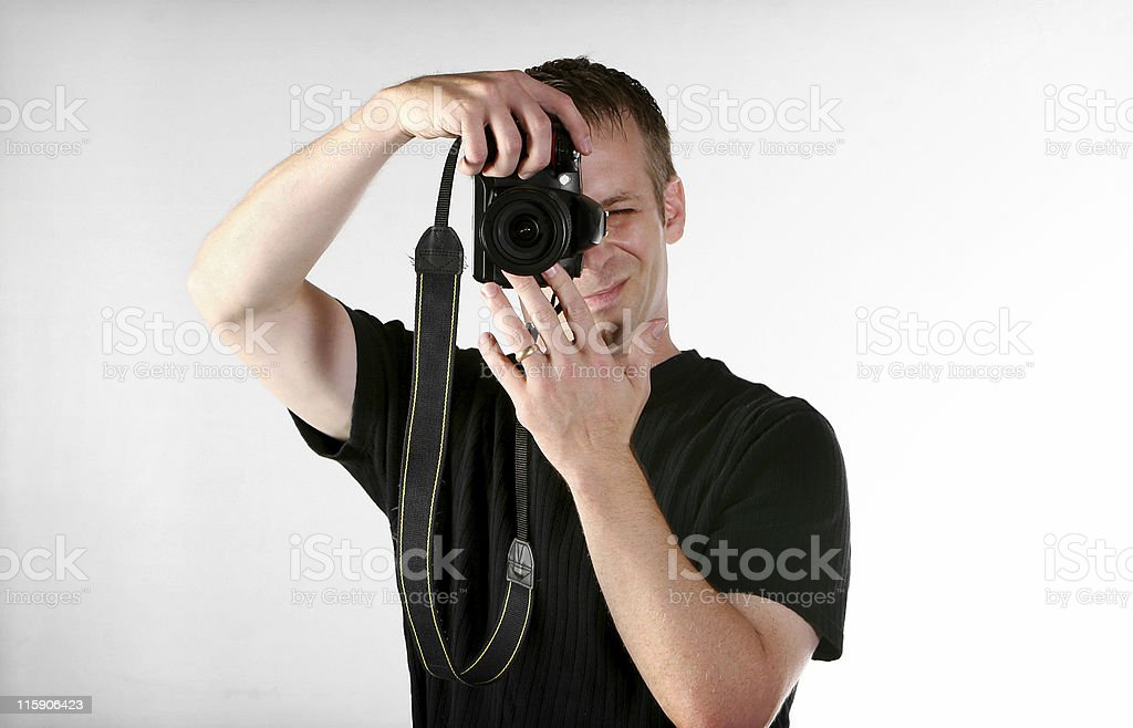 male photographer royalty-free stock photo