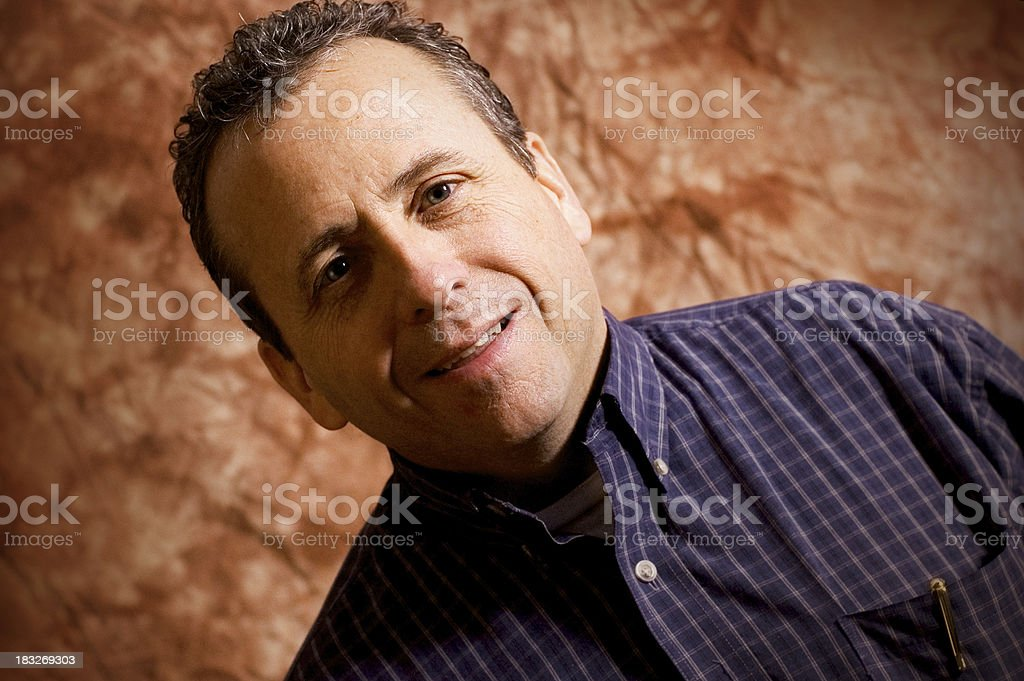 Male Portrait 2 royalty-free stock photo