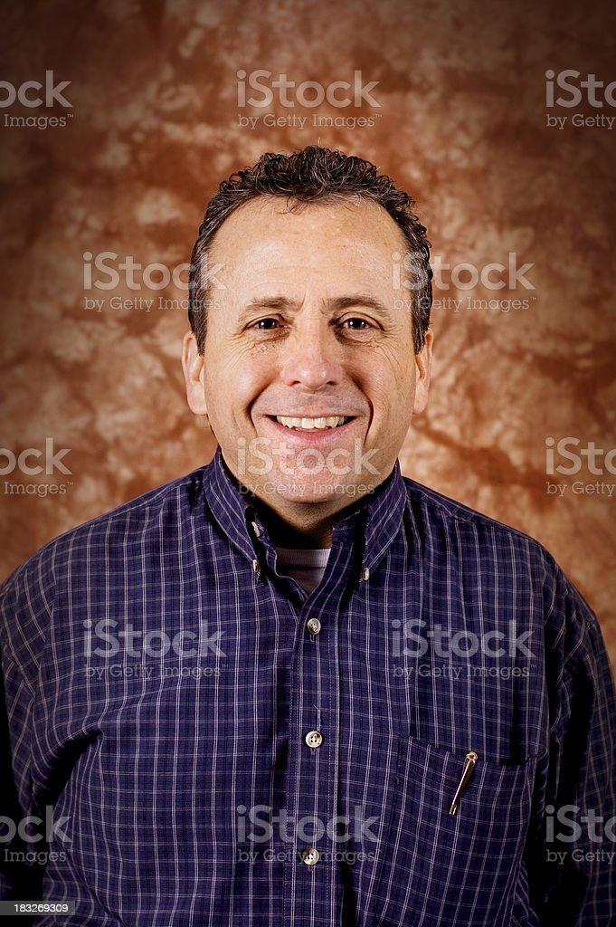 Male Portrait 4 royalty-free stock photo